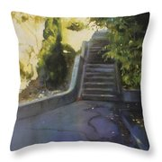 Avenue Gravier - The Shortcut Throw Pillow