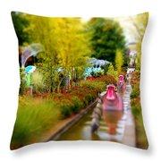 Avenue Of Dreams 4 Throw Pillow