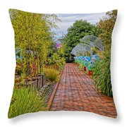 Avenue Of Dreams 5 Throw Pillow