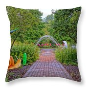 Avenue Of Dreams 6 Throw Pillow