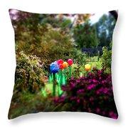 Avenue Of Dreams 7 Throw Pillow