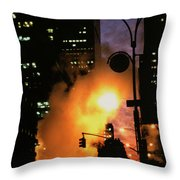 Avenue Of The Americas Throw Pillow