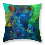 Avian Dreams - Pardise  Throw Pillow