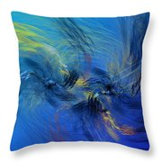 Avian Dreams 4 - Mating Rituals  Throw Pillow