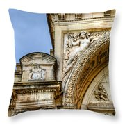 Avignon Opera House Muse 1 Throw Pillow