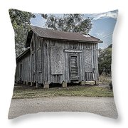 Avinger Depot Throw Pillow