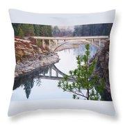 Avista High Bridge Throw Pillow