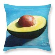 Avocado Grande Throw Pillow