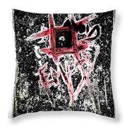 Avoid The Empty Throw Pillow