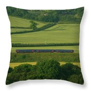 Avon Valley Sprinter  Throw Pillow