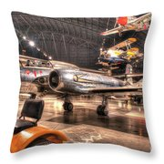 Avro Cf-100 Mk Iv Canuck Throw Pillow