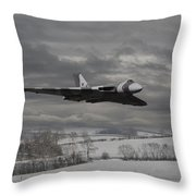 Avro Vulcan - Cold War Warrior Throw Pillow