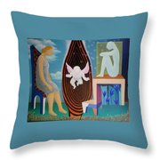 Await Throw Pillow