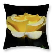 Awaiting A Dew Kiss Throw Pillow