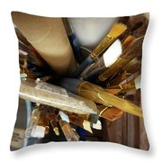 Awaiting Inspiration Throw Pillow