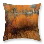 Awaiting Passage Throw Pillow