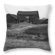 Awaiting Winter Throw Pillow