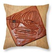 Awaits - Tile Throw Pillow