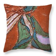 Awake Tile Throw Pillow
