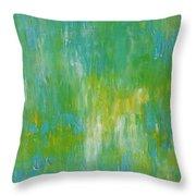 Awaken Throw Pillow by KR Moehr