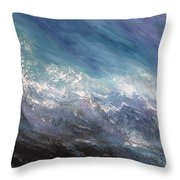 Awaken Throw Pillow