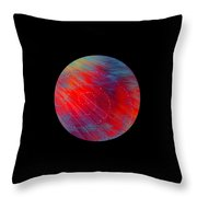 Awakening Planet Throw Pillow