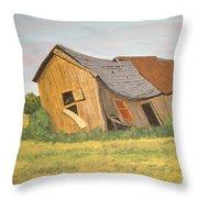 Award-winning Original Acrylic Painting - Now I Lay Me Down To Sleep Throw Pillow