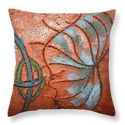 Awash - Tile Throw Pillow