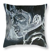 Away From The Limelight Throw Pillow