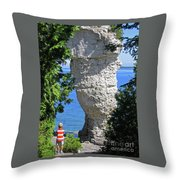 Awesome All Around Throw Pillow