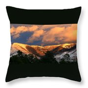 Awesome Light Of New Mexico Throw Pillow