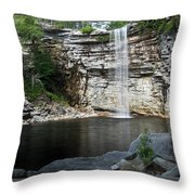 Awosting Falls In July II Throw Pillow