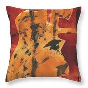 Axeman 3 Throw Pillow
