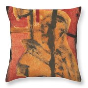 Axeman 14 Throw Pillow