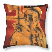 Axeman 16 Throw Pillow