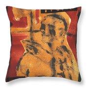Axeman 16 Throw Pillow