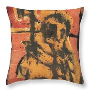 Axeman 2 Throw Pillow