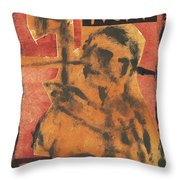 Axeman 23 Throw Pillow