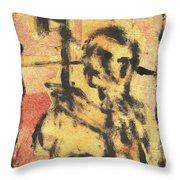 Axeman 9 Throw Pillow