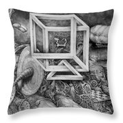 Axis Mundi Throw Pillow