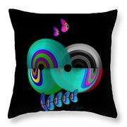 Axis Web Throw Pillow