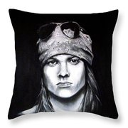 Axl Rose - Welcome To The Jungle Throw Pillow
