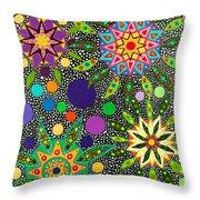 Ayahuasca Vision May 2015 Throw Pillow