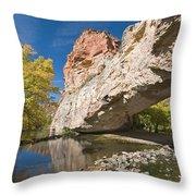 Ayres Natural Bridge Throw Pillow