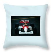 Ayrton Senna 1 Throw Pillow