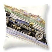 Ayrton Senna 1985 Throw Pillow
