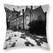 Aysgarth Church Throw Pillow