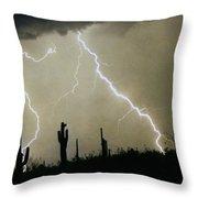 Az Desert Storm Throw Pillow by James BO  Insogna