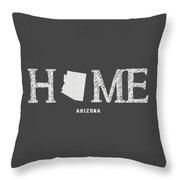 Az Home Throw Pillow by Nancy Ingersoll