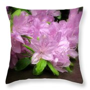 Azalea Bouqet Throw Pillow